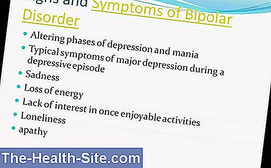 Bipolar disorder - symptoms