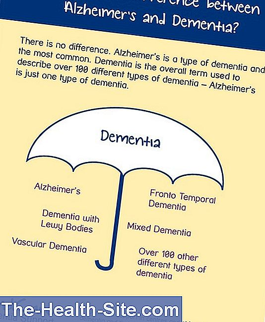Difference between alzheimer's and dementia?