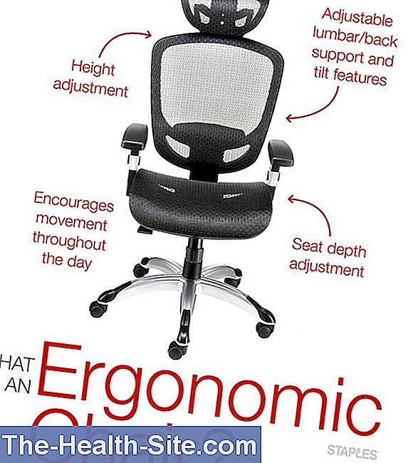 Ergonomic workplace - that's what it looks like