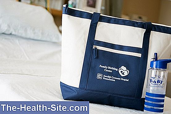 Clinic bag for childbirth