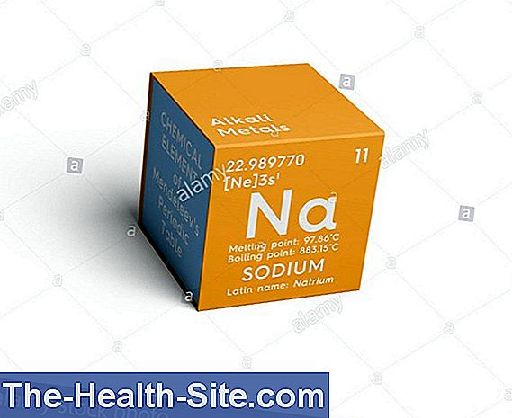 Schüßler salts 8: sodium chloratum