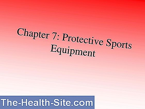 Sports - protective equipment