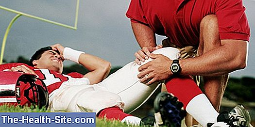 Sports injuries - football