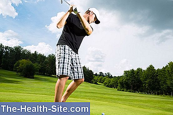 Sports injuries - golf