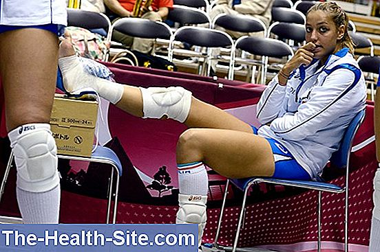 Sports injuries - volleyball & co