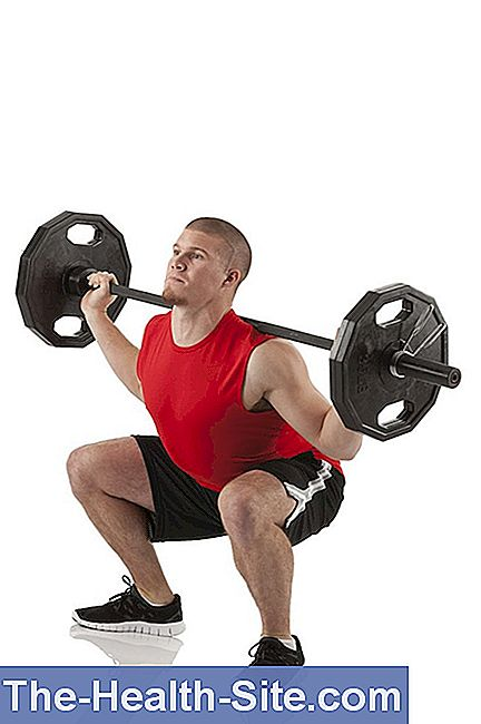 Sports injuries - weight training