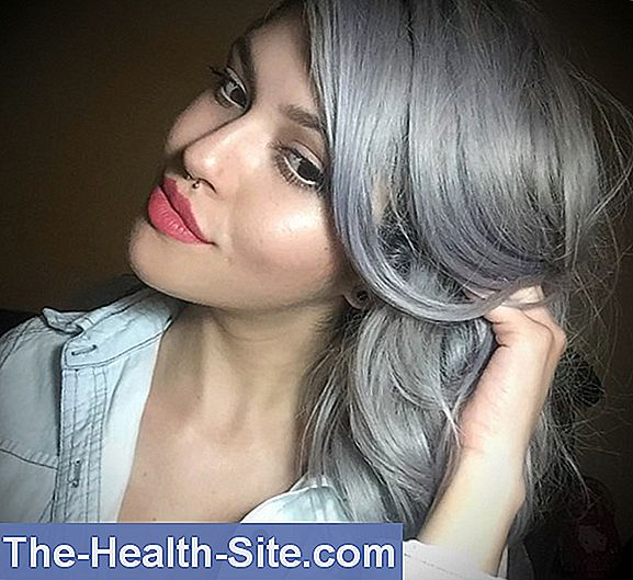 Color gris cabello