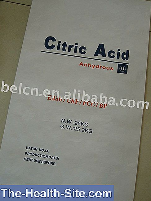 E 330: acid citric