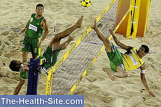 Footvolley - volleyball with a difference
