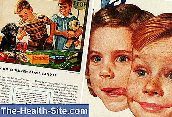 Children's food: manufacturers advertise with sweets